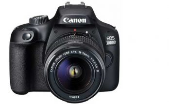 Canon EOS 3000D DSLR Camera