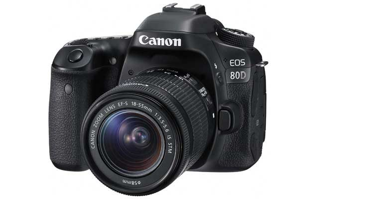 Canon EOS 80D DSLR Camera