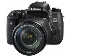 Canon EOS 760D DSLR Camera