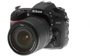Nikon D7200 DSLR Camera