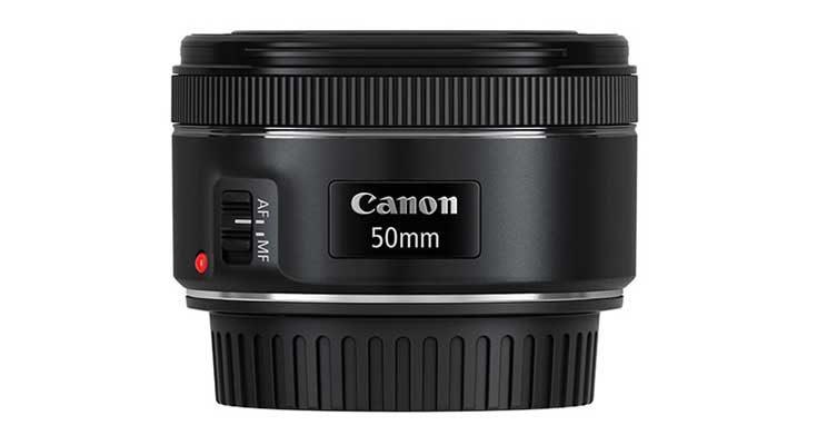 Canon EF 50mm F/1.8 STM Camera Lens