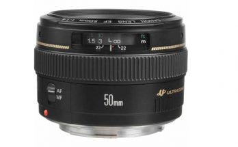 Canon EF 50mm F1.4 USM Camera Lens