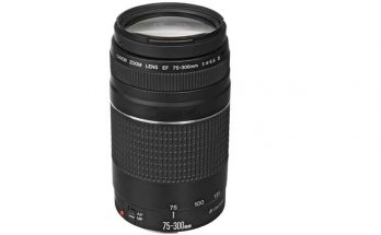 Canon EF 75-300mm F4-5.6 III Camera Lens
