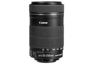 Canon EF-S 55-250mm F4-5.6 IS Camera Lens