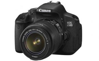 Canon EOS 650D DSLR Camera