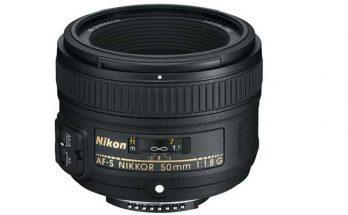 Nikon 50MM 1.8 G Camera Lens