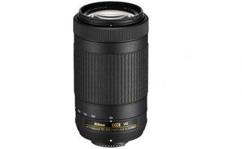 Nikon AF-P DX 70-300MM 1:4.5-6.3G ED VR Camera Lens