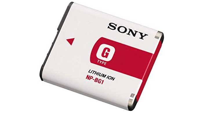 Sony NP-BG1 Lithium Ion Rechargeable Camera Battery