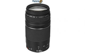 Canon EF 75-300mm f-4-5.6 III Telephoto Zoom Lens